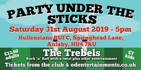 Party Under The Sticks - Hullensians Pre-Season Fundraiser tickets