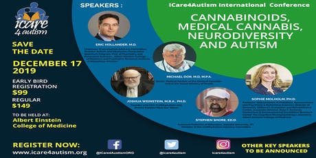 ICare4Autism International Conference: Cannabinoids, Medical Cannabis, Neurodiversity and Autism tickets