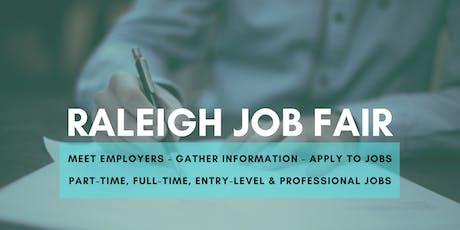 Raleigh Job Fair - August 20, 2019 Job Fairs & Hiring Events in Raleigh NC tickets