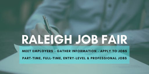 Raleigh Job Fair - August 20, 2019 Job Fairs & Hiring Events in Raleigh NC