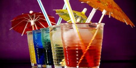 Cocktail destinado à angariação de donativo para crianças vitimas de cancro bilhetes
