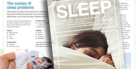 Sleep seminar with Dr Sandi Mann tickets