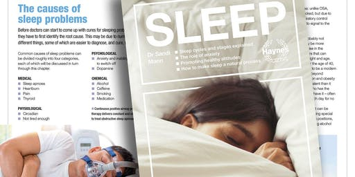 Sleep seminar with Dr Sandi Mann