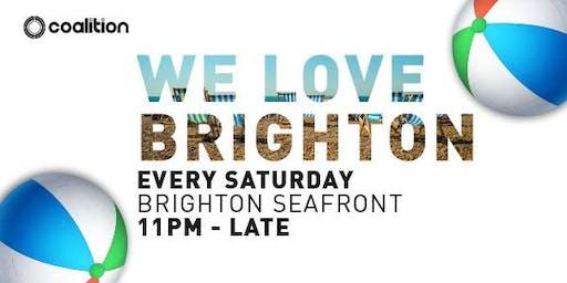 Sets On The Beach (We Love Brighton!)
