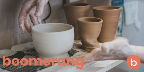 Boomerang Pottery 101 Workshop tickets