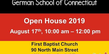 German School of CT Open House W. Hartford tickets