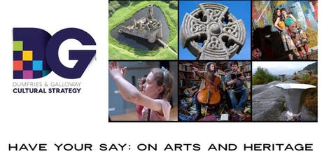 Have your say... a cultural strategy for Dumfries and Galloway - Tuesday July 23, Waverley Hall, Creetown tickets