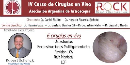 IV Curso de Cirugía en Vivo Asociacion Argentina de Artroscopia