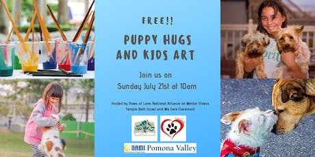 FREE! Puppy Hugs and Art for Children. tickets