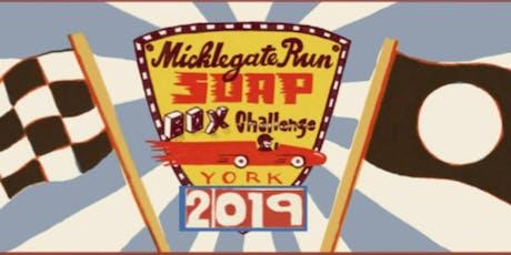York Bid Micklegate Soapbox Challenge tickets