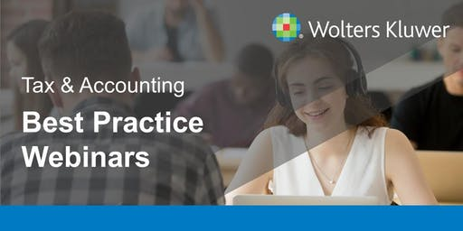 CCH Personal Tax - The best practice webinar