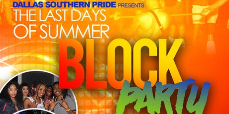 Last Days of Summer Block Party and Mini Ball  tickets