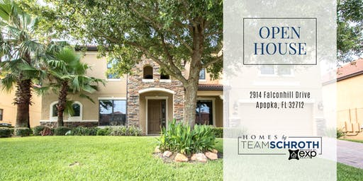 OPEN HOUSE: 2914 Falconhill Drive in Wekiva Springs Estates