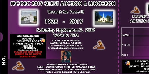 FBCOEC 2019 Silent Auction & Luncheon