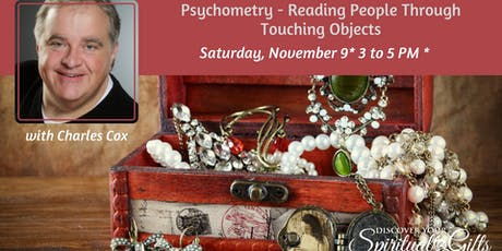 Psychometry- Reading People Through Touching Objects tickets