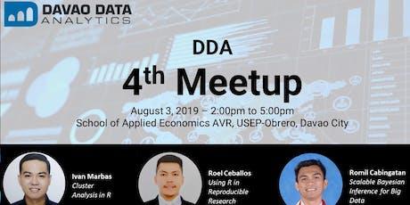 Davao Data Analytics 4th Meetup tickets