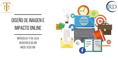 Diseño de imagen e impacto Online entradas