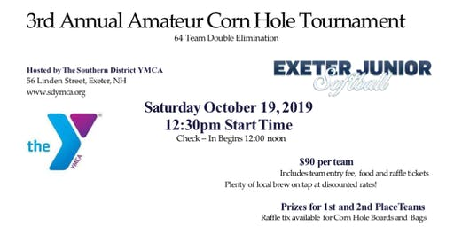 Copy of 3rd Annual Exeter Jr. Softball Amateur Corn Hole Tournament