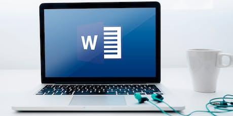 Microsoft Word 101 (T3-19) tickets