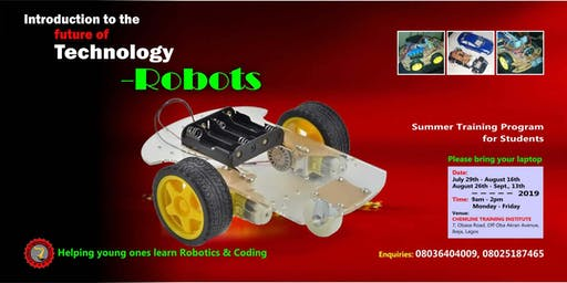 SUMMER TRAINING PROGRAM- ROBOTICS