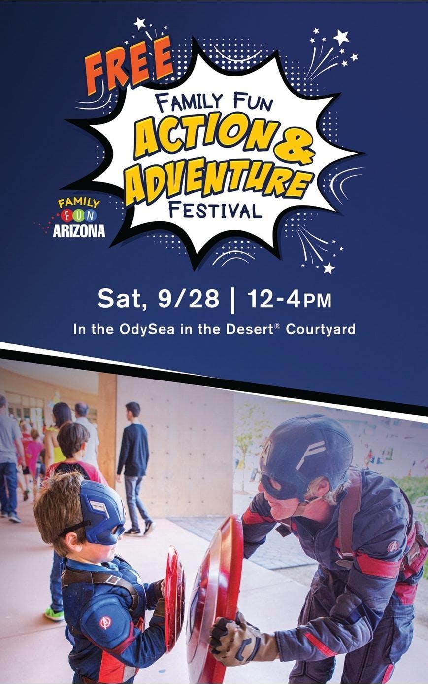 Annual Family Fun ACTION & ADVENTURE Festival!