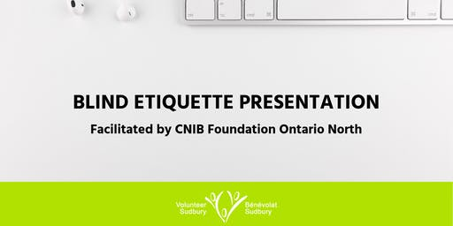 Blind Etiquette Presentation