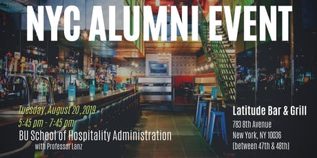 SHA Alumni Event in NYC tickets