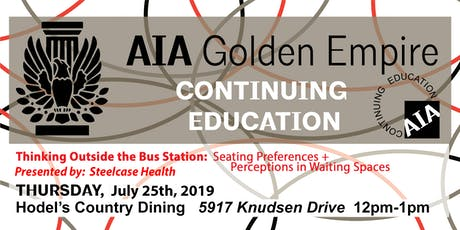 July 2019 | AIAGE CONTINUING EDUCATION LUNCH & LEARN | Hodel's Country Dining tickets