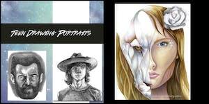 Teen Drawing Workshop Series - Portraits