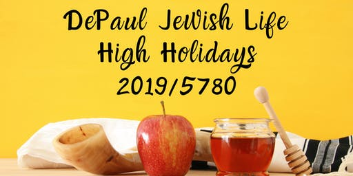 DePaul High Holidays 2019/5780