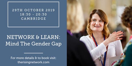 Network & Learn: Mind The Gender Pay Gap tickets