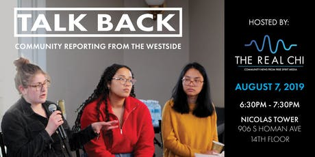 Talk Back: Community Reporting from the Westside tickets