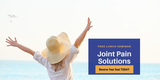 Regenerative Medicine Lunch & Learn - Non-Surgical Solutions to Joint Pain