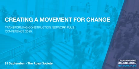 Creating a movement for change - Conference 2019 tickets