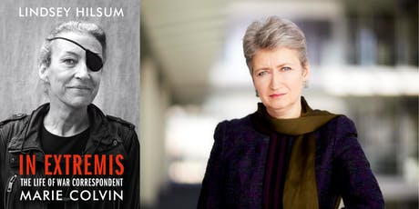 The War Correspondent: Lindsey Hilsum on the Life of Marie Colvin tickets
