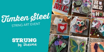 String Art: Timken Steel Event, Muskellunge Brewing