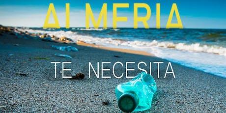 Limpieza de Playa en Almería entradas