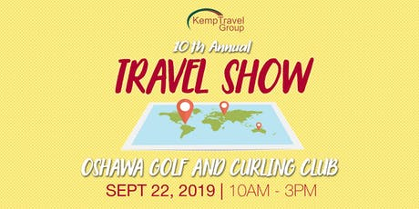 Kemp Travel's 10th Annual Travel Show tickets