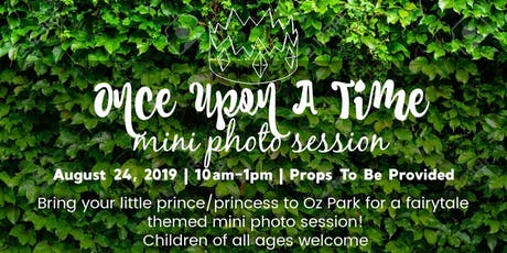 Once Upon A Time Mini Photo Session! By Shoot 312 Photography tickets