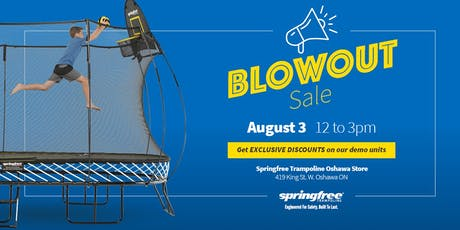 Springfree Trampoline Oshawa - BlowOut Sale tickets