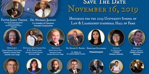 University School of Law & Leadership Inaugural Benefit Gala