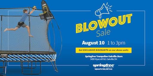 Springfree Trampoline Oakville - BlowOut Sale