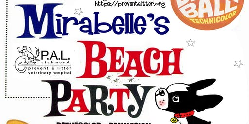 Mirabelle's Book Release Beach Party and PAL Benefit!