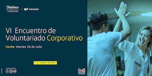 VI Encuentro de Voluntariado Corporativo 2019