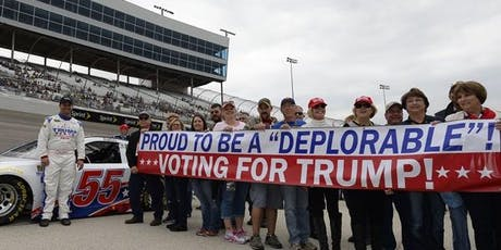 Trump Victory Petitioning at NASCAR: Foxwoods Resort & Casino 301 tickets