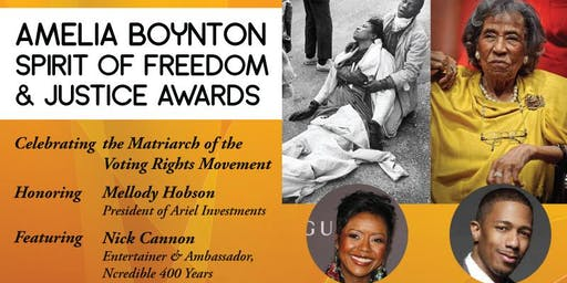 Amelia Boynton - Spirit of Freedom & Justice Awards