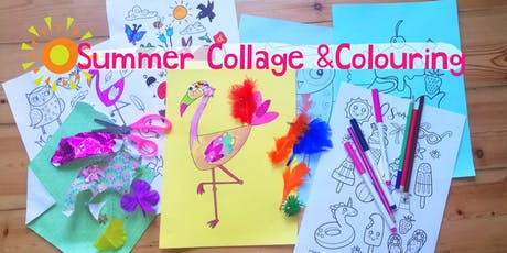Collage and colouring workshop at the Greenwich Summertime event tickets
