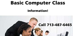 Basic Computer Class in Houston - Information only!...
