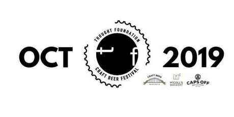 Thought Foundation - Craft Beer Festival Oct 2019 tickets