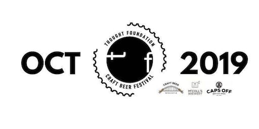 Thought Foundation - Craft Beer Festival Oct 2019